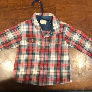 Other - Baby boy flannel top!